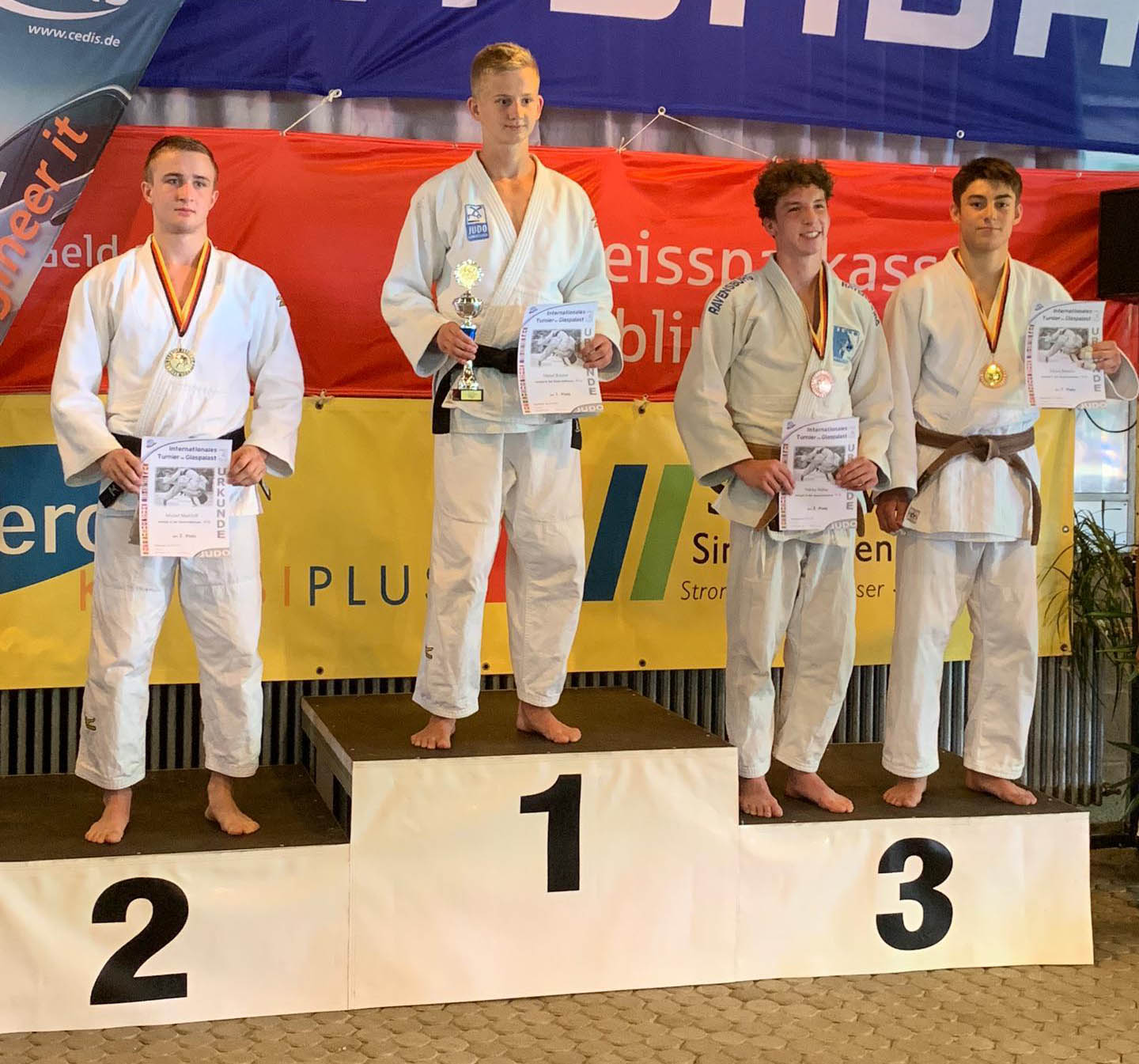 Tournoi international de Glaspalast en Deutschland 30.6.2019